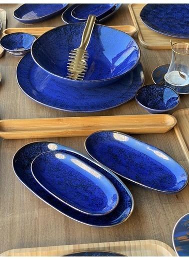 ROSSEV Kahvaltı Takımı Mare Kobalt 43 Parça 6 Kişilik Renkli